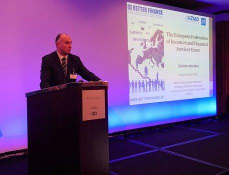 BUDIMPEŠTA – odmevna predstavitev in številna srečanja Predsednika VZMD na mednarodnem kongresu »Brave New World for Fin...