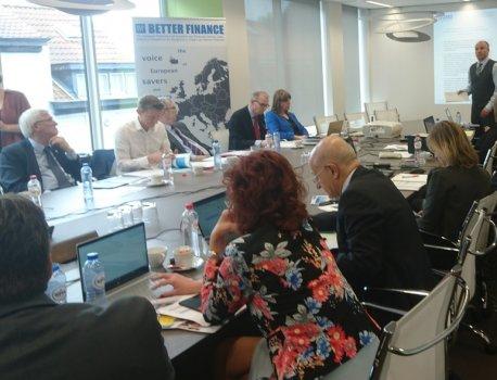 BRUSELJ ‒ »Delniška OPORA« navdušila na mednarodni konferenci o izobraževanju vlagateljev »Investor Education in a Digit...